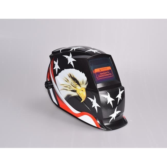 casque de soudage de haute qualit affichage lcd automatique assombrissement solaire masque de. Black Bedroom Furniture Sets. Home Design Ideas