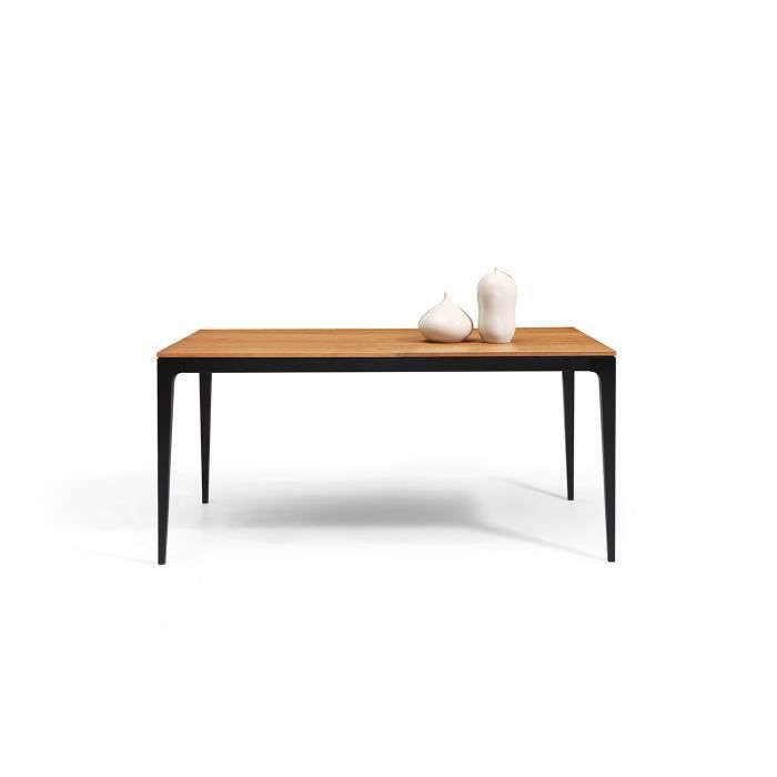 Table de salle manger design davos dewarens achat for Table de salle a manger design