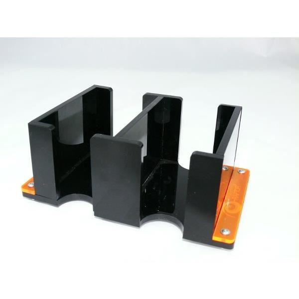 boite de rangement en plexiglas 2 casiers achat vente carte a collectionner cdiscount. Black Bedroom Furniture Sets. Home Design Ideas
