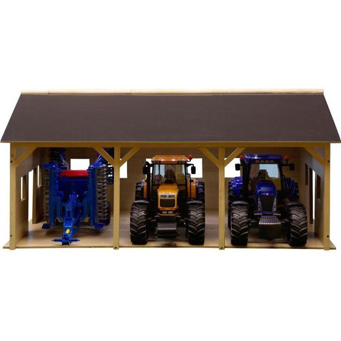hangar pour tracteur achat vente jeux et jouets pas chers. Black Bedroom Furniture Sets. Home Design Ideas