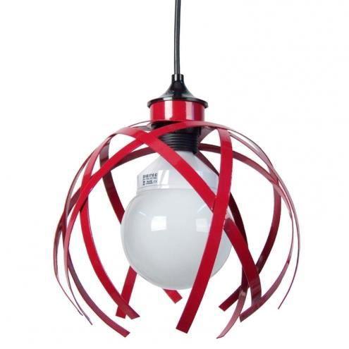 suspension m tal rouge cross achat vente suspension m tal rouge cross cdiscount. Black Bedroom Furniture Sets. Home Design Ideas