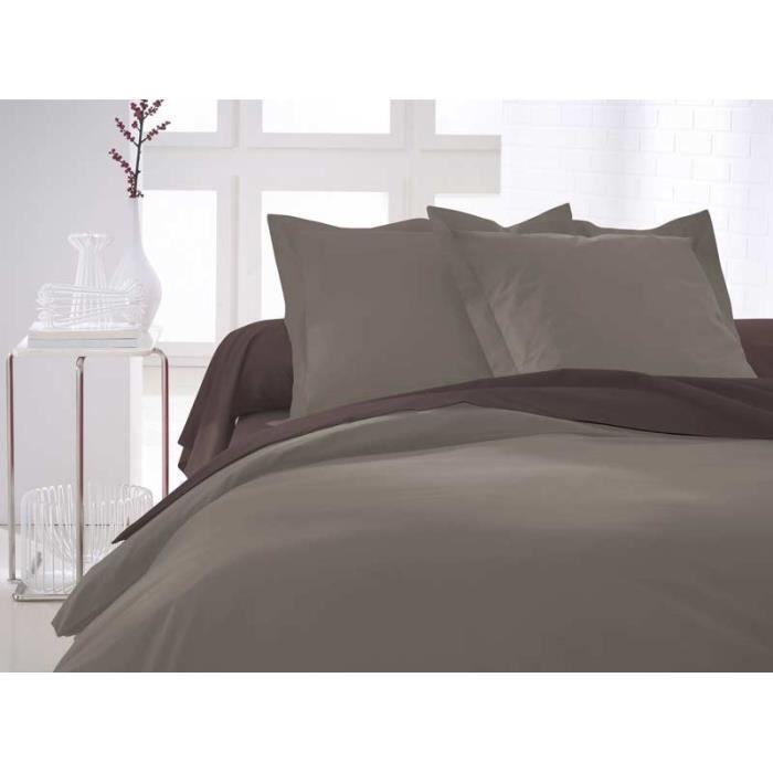 paris prix housse de couette today mastic 140x200cm achat vente housse de couette cdiscount. Black Bedroom Furniture Sets. Home Design Ideas