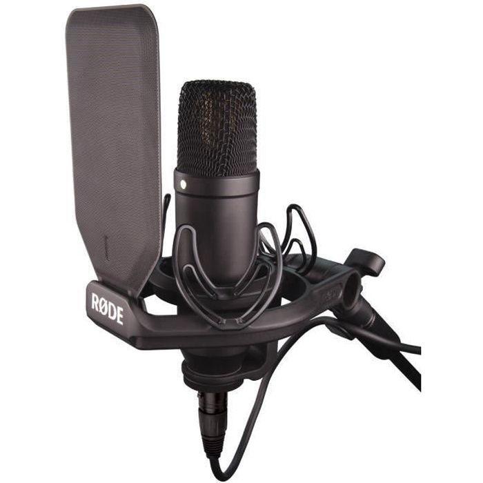 rode nt1 kit black microphone accessoire avis et prix pas cher cdiscount. Black Bedroom Furniture Sets. Home Design Ideas