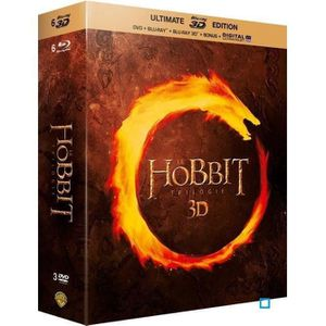 BLU-RAY FILM Blu-Ray 3D Trilogie Le Hobbit - Ultimate Blu-ray 3