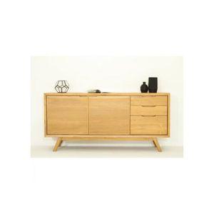 bahut en teck achat vente bahut en teck pas cher cdiscount. Black Bedroom Furniture Sets. Home Design Ideas