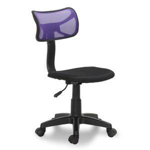 Chaises violet achat vente chaises violet pas cher - Chaise de bureau violet ...
