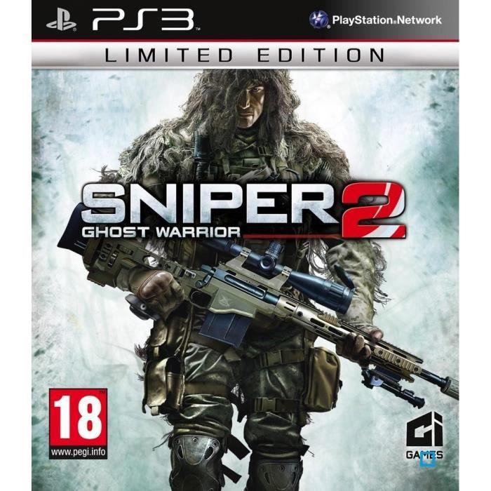 JEUX PS3 Sniper Ghost Warrior 2 Ed.Limitée Jeu PS3