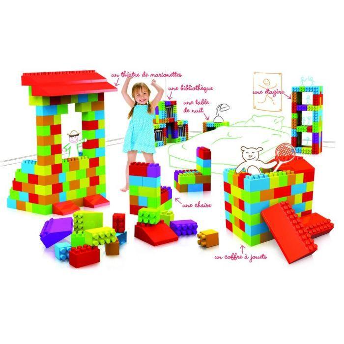 juniors jeux de construction pack  maxi briques f alo