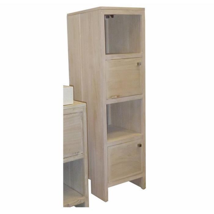 Meuble colonne simiti 75 cm achat vente colonne salle - Colonne salle de bain cdiscount ...