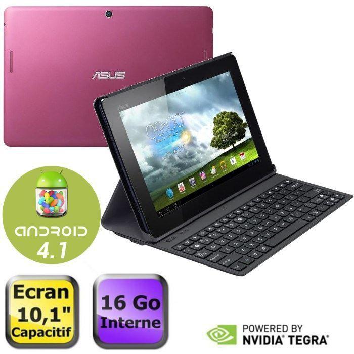 Asus memo pad me301t 10 1 16go rose clavier achat for Housse asus memo pad 10