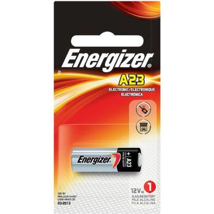 Pile alcaline 23a v23 12v energizer achat vente piles - Pile 23a 12v ...