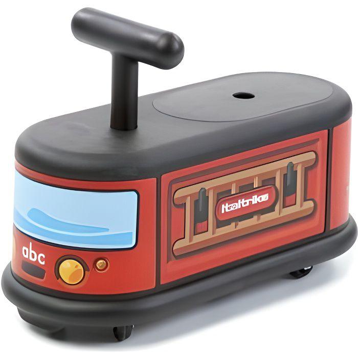porteur camion motif pompiers italtrike achat vente porteur pousseur cdiscount. Black Bedroom Furniture Sets. Home Design Ideas