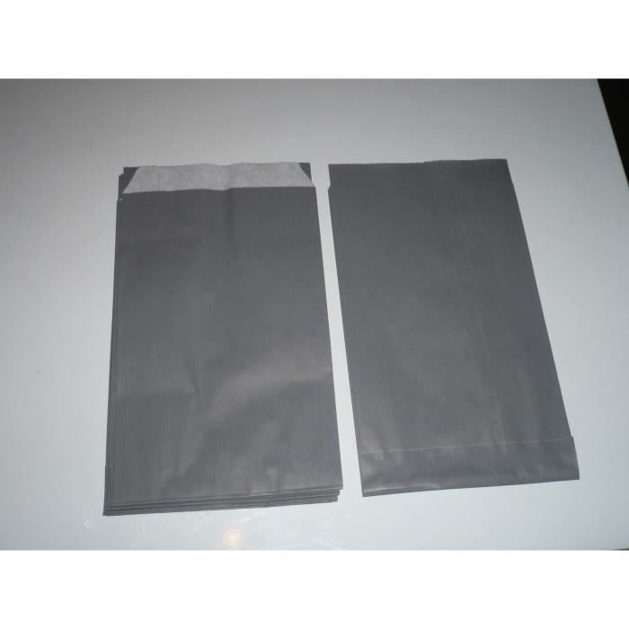 10 pochettes cadeaux kraft gris souris 12x20cm achat vente pochette cadeau 10 pochettes. Black Bedroom Furniture Sets. Home Design Ideas