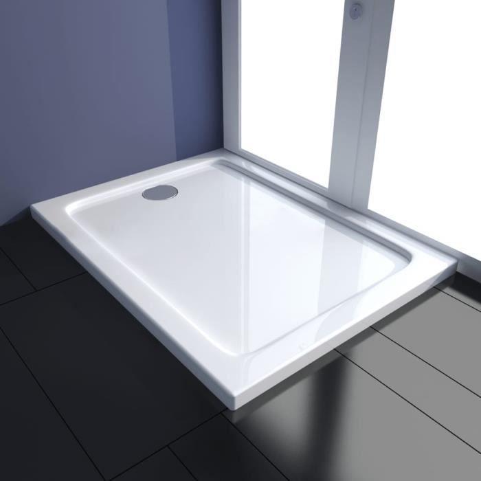 Receveur de douche 80 x 100 cm achat vente colonne armoire wc receveur de douche 80 x 100 Solde colonne de douche
