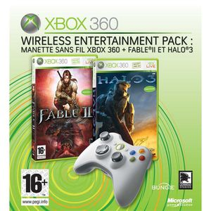 CONSOLE XBOX 360 XBOX 360 WIRELESS ENTERTAINMENT PACK