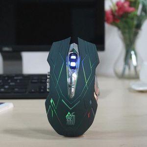 SOURIS JS 10 touches souris sans fil de jeu professionnel