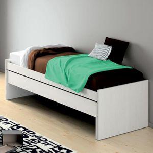 lit gigogne 1 personne achat vente lit gigogne 1 personne pas cher cdiscount. Black Bedroom Furniture Sets. Home Design Ideas