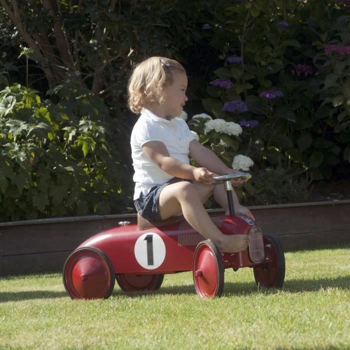 jeux de conduite voiture a pousser pour enfant retro roller james achat vente jouet tirer. Black Bedroom Furniture Sets. Home Design Ideas