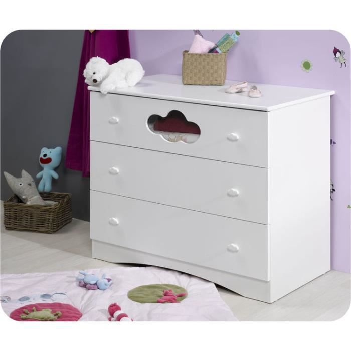 Eb commode b b alt a blanche plan langer a achat vente table lang - Commode bebe cdiscount ...