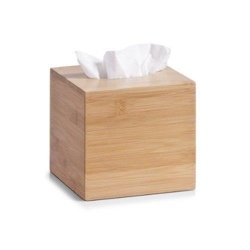 Zeller 25304 boite de rangement en bambou pour mouchoirs for Boite a mouchoirs maison