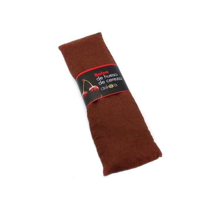 coussin noyau de cerise marron relaxant bouillotte achat. Black Bedroom Furniture Sets. Home Design Ideas