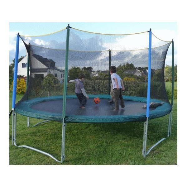 filet de protection pour trampoline 3m60 achat vente acc de trampoline cdiscount