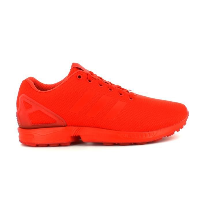 adidas originals zx flux - baskets basses - rouge