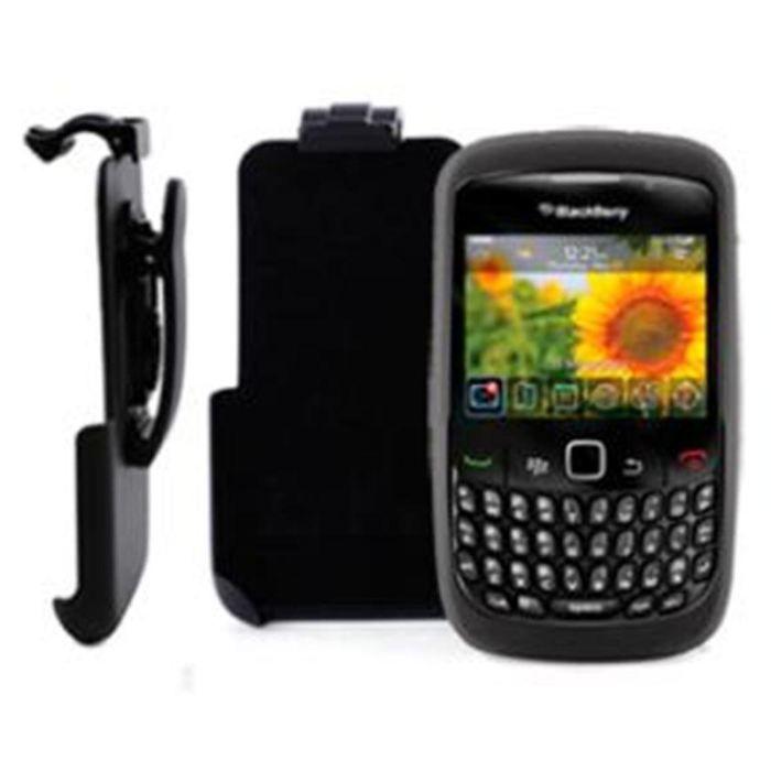 Support 8520 curve clip ceinture housse minigel achat for Housse blackberry curve