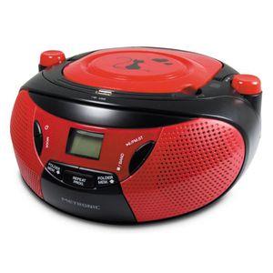 MET 477104 Radio CD-MP3 Black Cat