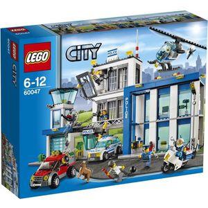 ASSEMBLAGE CONSTRUCTION LEGO® City 60047 Le Commissariat de Police