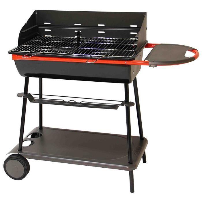 qooka a700 barbecue acier forme tonneau s chariot achat vente barbecue barbecue qooka a700. Black Bedroom Furniture Sets. Home Design Ideas