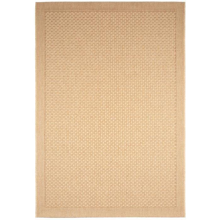 benuta tapis d 39 39 ext rieur int rieur naoto beige 140x200 cm 39 achat vente tapis soldes. Black Bedroom Furniture Sets. Home Design Ideas