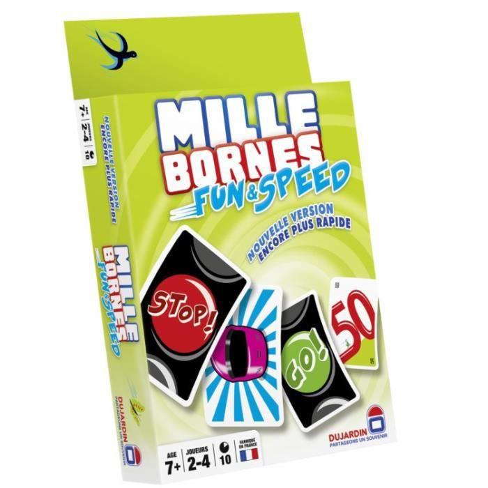 Mille bornes fun and speed achat vente cartes de jeu for Dujardin 59019 jeu de plateau mille bornes le grand classique plateau