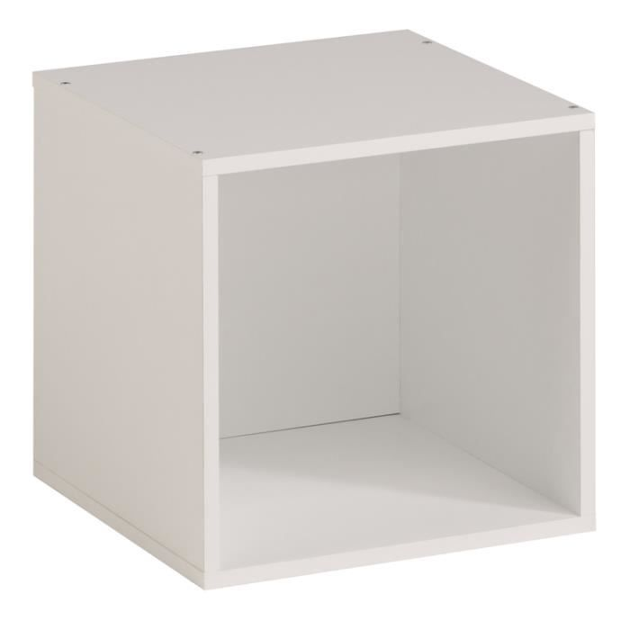 tag re cube kubo aille unique blanc achat vente meuble tag re tag re cube kubo aille uni. Black Bedroom Furniture Sets. Home Design Ideas