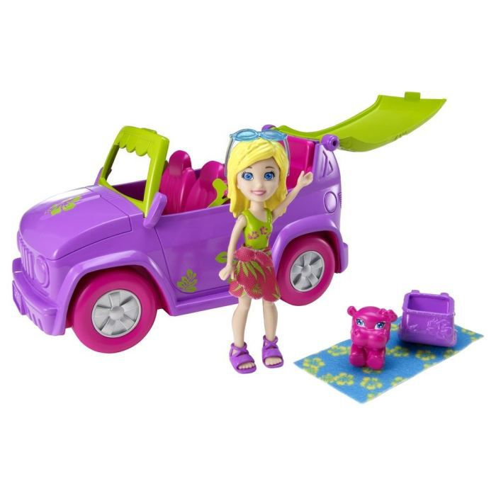 polly pocket voiture toboggan achat vente univers miniature cdiscount. Black Bedroom Furniture Sets. Home Design Ideas