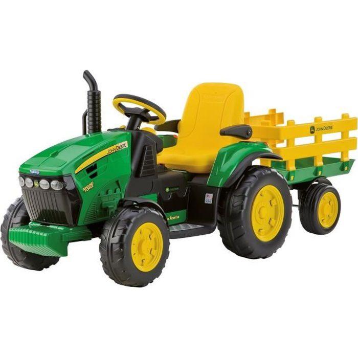 tracteur chantier peg perego tracteur electrique john deere ground f