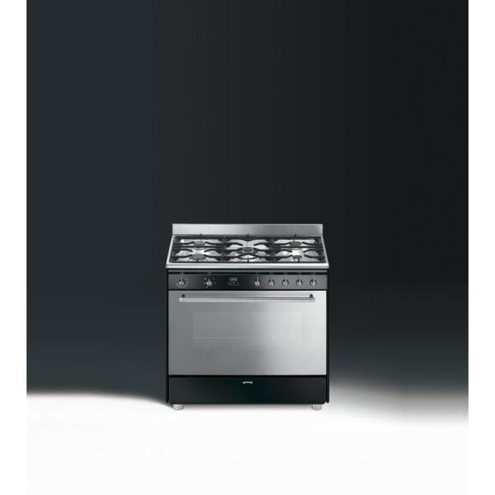 Smeg elite centre de cuisson multifonction 90 achat vente cuisini re - Gaziniere piano smeg ...