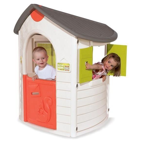 smoby maison enfant natur 39 home achat vente maison jeux. Black Bedroom Furniture Sets. Home Design Ideas