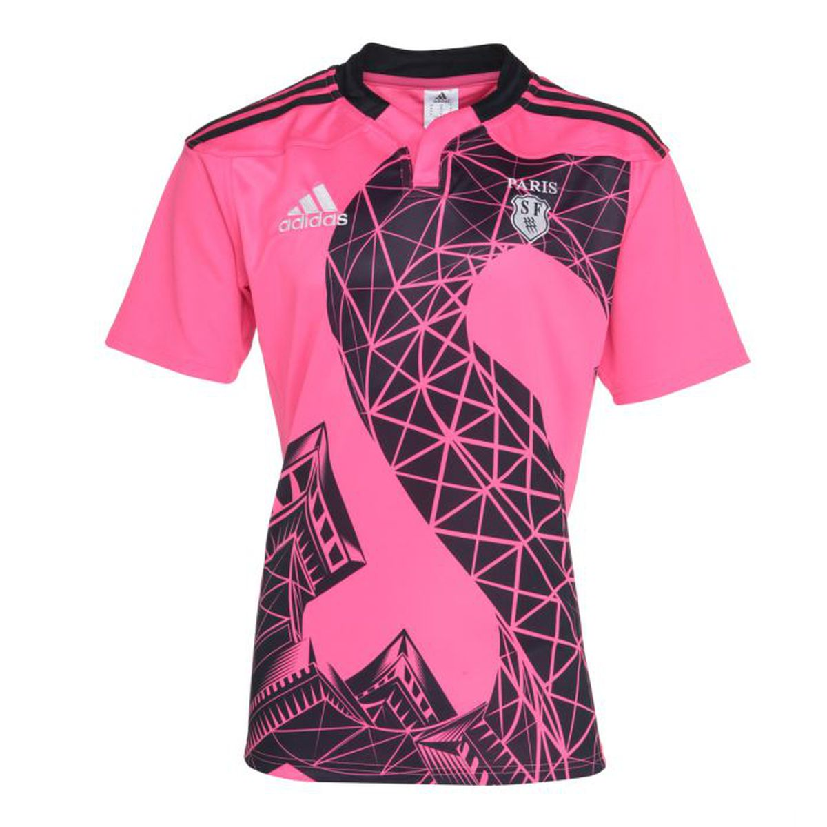 le sport sports collectifs adidas maillot rugby replica stade francais f