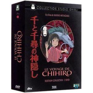 DVD DESSIN ANIMÉ DVD Le voyage de chihiro