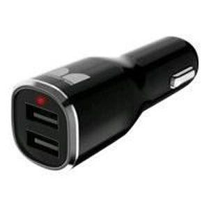MONSTER Chargeur USB MAX 2 Multilingue noir et argent