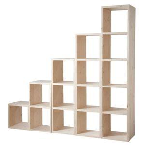 meuble case modulable achat vente meuble case modulable pas cher les soldes sur cdiscount. Black Bedroom Furniture Sets. Home Design Ideas
