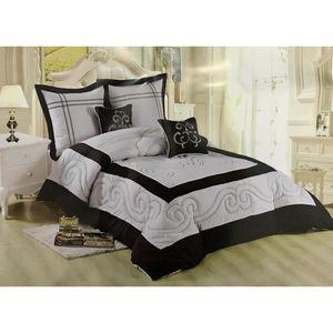 couvre lit 2 personnes boutis achat vente couvre lit 2. Black Bedroom Furniture Sets. Home Design Ideas
