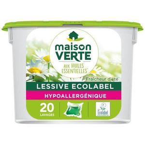 Lessives maison verte achat vente lessives maison verte pas cher cdiscount - Maison verte lessive ...