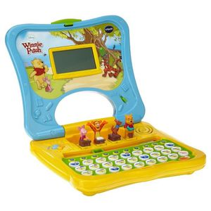 ORDINATEUR ENFANT VTECH WINNIE PUUHS ABC-LAPTOP (80-69104)