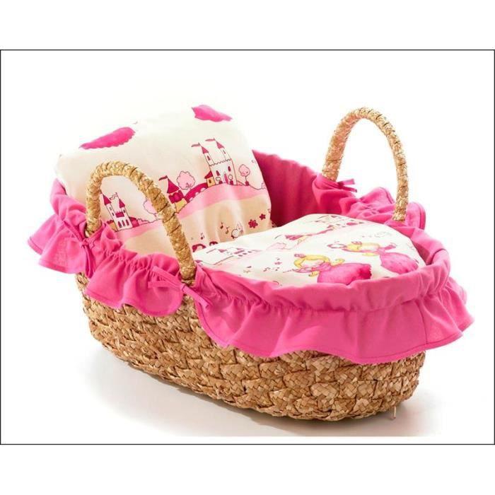 bayer chic 2000 233 04 couffin pour poup es jusque 45 cm little princess achat vente landau. Black Bedroom Furniture Sets. Home Design Ideas