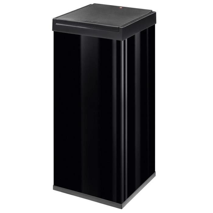 Hailo poubelle big box touch 80l noire monter achat - Poubelle encastrable 30 litres ...