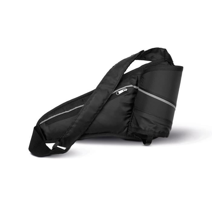 Sac de ceinture porte gourde noir achat vente sac banane 3663295279048 soldes cdiscount - Ceinture porte gourde running ...