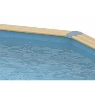 Liner bleu piscine allong e ubbink 550 x 400 x achat for Achat liner piscine
