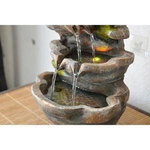 fontaine d interieur achat vente fontaine d interieur pas cher cdiscount. Black Bedroom Furniture Sets. Home Design Ideas